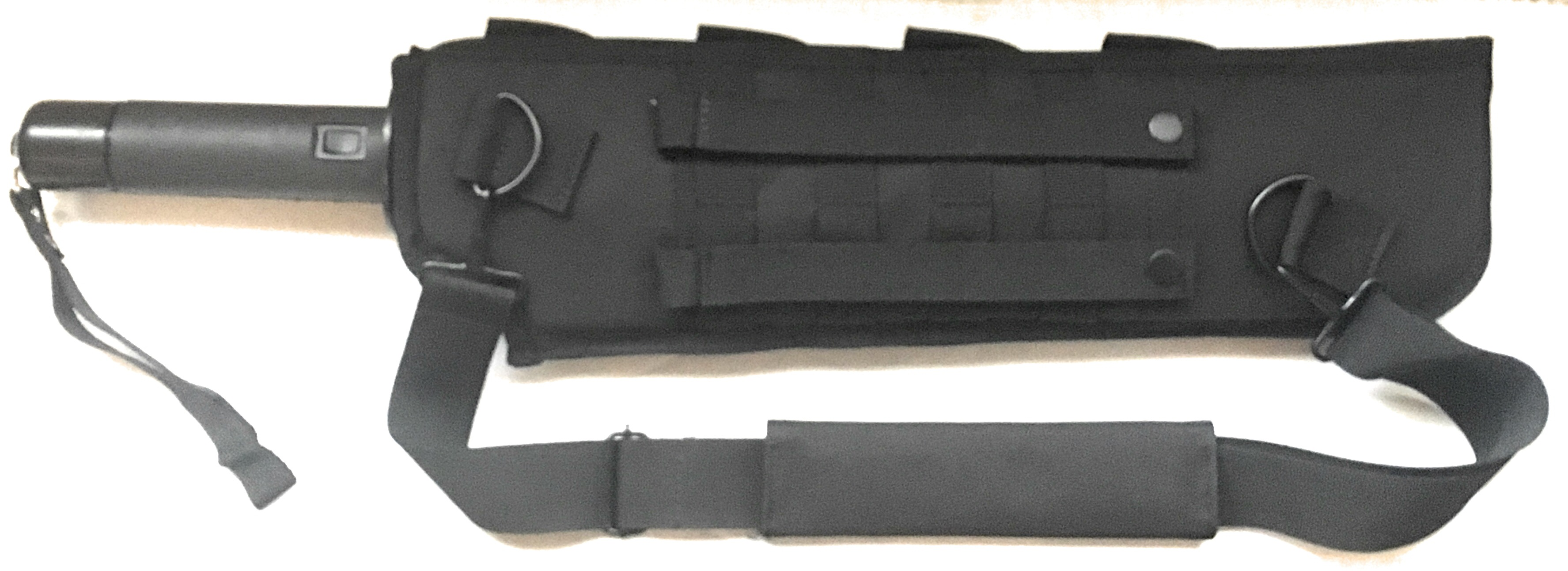 THE O-MEGA STUN BATON STUN GUN SHEATH (BLACK)