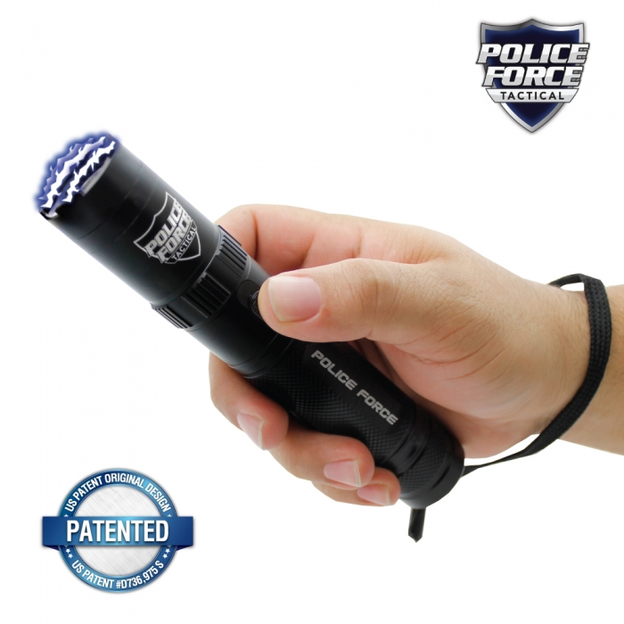 POLICE FORCE STUN FLASHLIGHT